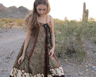 Vintage Ethnic Cotton Batik Dress......