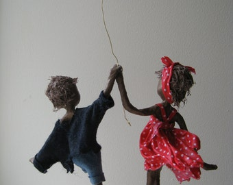 Happy Valentines!. Mixed media Sculpture. Available