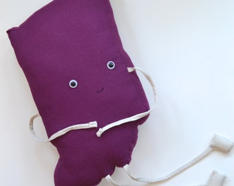 Shaped pillow cute Etsy