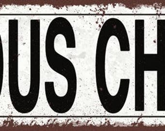 Sous Chef Metal Street Sign, Rustic, Vintage   TFD2045