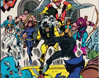 Avengers #211, September 1981 Issue - Marvel Comics - Grade VF