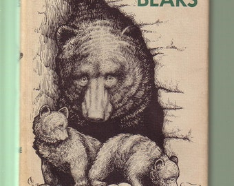 No Room For Bears by Frank Dufresne. 1965 Hardback In Good Condition*. Alaska Wilderness, Myths. Illustrated.