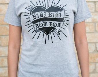 Bidi Bidi Bom Bom -Selena Quintanilla - Heather Grey Ladies Shirt