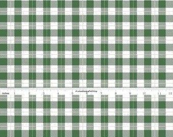 Green Check Fabric, Green Plaid Quilt Fabric, Riley Blake Comfort and Joy C6267, Christmas Fabric, Dani Mogstad My Minds Eye, Cotton