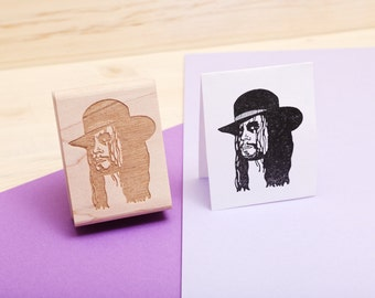 The Undertaker - Rubber Stamp Portrait