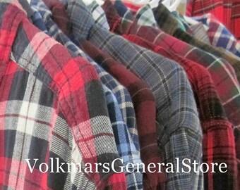 Vintage Shirts Flannel Women's Boyfriend Ladies Country Soft Oversized Grunge Hipster Style Stylish Comfort Streetwear