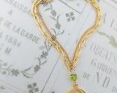 Bracelet - Mary of Magdala Peridot Bracelet - 18K Gold Vermeil