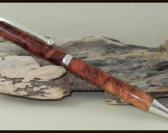 Red Mallee Burl Twist Pen