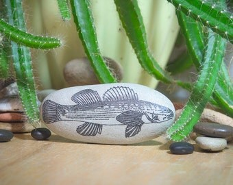 Fish/ Fishing/ Fishing Gift/ Gift Ideas for Men/ Fish Art/ Fish Gifts/ Fish Decor/ Dad Gift/ Father Gift/ Collectibles/ Mens Gift