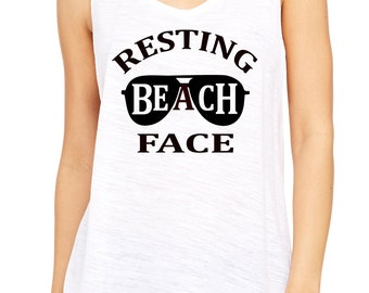 Resting Beach Face Etsy