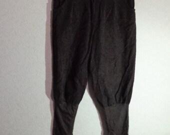 Vintage corduroy Women Pants,Size 38