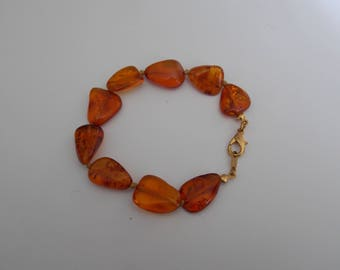 Bracelet amber from the Baltic Sea
