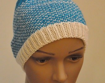 Medium weight merino wool hat