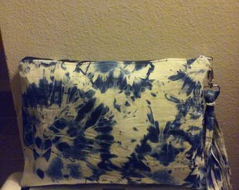 Denim Louine Clutch