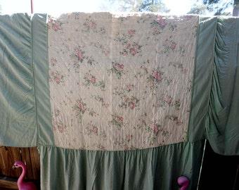 Twin - Romantic Shabby Chic Twim Vintage Bedspread