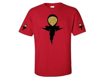 African Clothing // Ankh Shirt // Key of Life Symbol Shirt // Mens or Womens African Shirt // Egyptian Shirt // Kemet T-shirt // Z'Ankh