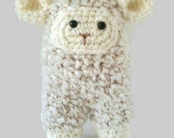 Crochet sheep, amigurumi sheep, sheep, woolly sheep, stuffed toy sheep, nursery decor, soft toy