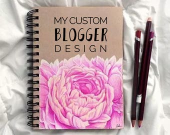 C U S T O M - B L O G G E R - blog design template package