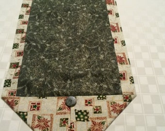 Green Sparkly Table Runner