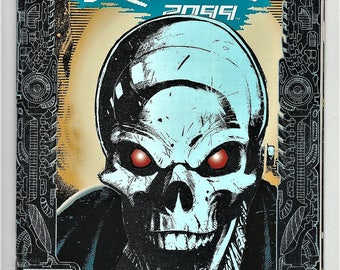 Ghost Rider 2099 1 NM- Silver Foil Chris Bachalo Cover Len Kaminski May 1994 Marvel Comics Book Birthday Christmas Gifts for Him Her