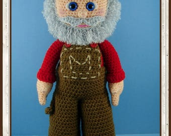 Old MacDonald Amigurumi (PDF download only, not the finished doll)