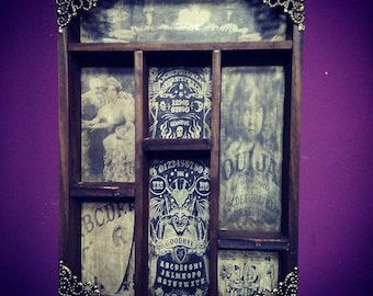 Ouija Cabinet of curiosities