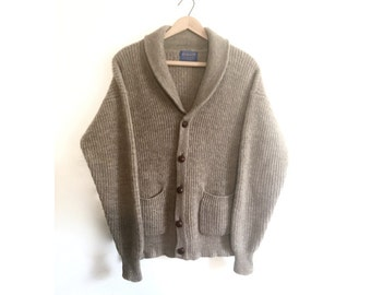 When I Was Your Age // Pendleton Mens Vintage Cardigan