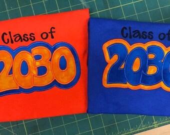 Class of 20.... shirt
