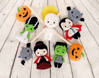Baby Mobile Halloween Nursery Decor Baby Shower Decorations Baby Crib Mobile Newborn Baby Gift Nursery Mobile New Baby Gift Hanging Mobile