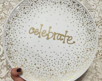 Celebrate Plate