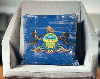 Pennsylvania Gifts   Pennsylvania State   Pennsylvania Throw Pillow   Pennsylvania Pillow Cover   Pennsylvania Decor