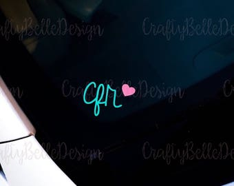 Initials | Preppy Initials | Fancy Monogram | Preppy Monogram Decal | Preppy Monogram Phone Sticker | Laptop Sticker | Car Decal.