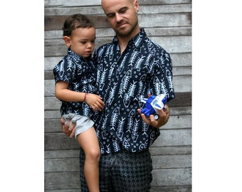Father son matching shirts,Dad son Outfit,father son shirt,father partnerlook,father son outfit,dad son matching shirts,Father's Day gift