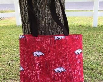 Simple Hog Tote Bag, everyday bag