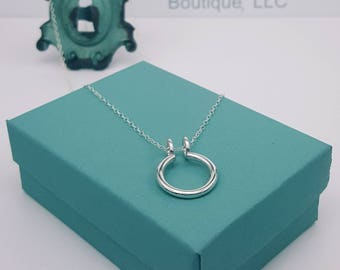 ring holder necklace sterling silver ring keeper ring saver wedding ring - Wedding Ring Necklace Holder