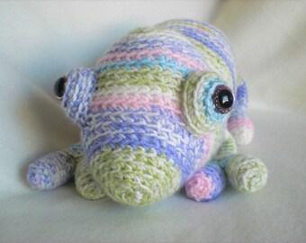 Crocheted Softie Carmen Cameleon