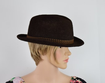 60's  Classic Vintage United Hatters Cap Union Made  by Steven's Deluxe