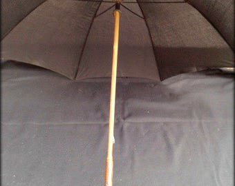 Umbrella Black wood