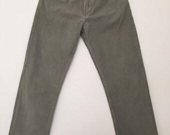 Vintage Wrangler / corduroy pants / high waisted / wrangler / high waisted jeans / wrangler jeans / W32L31