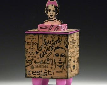 Box, Handmade Box, Nasty Women, Women's Rights
