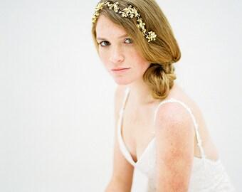 Crystal Headpiece, Bridal Headband, Wedding Headband, Crystal headband, Crystal Hair Vine, Bridal Hair Vine, Bridal Headpiece - Style 607