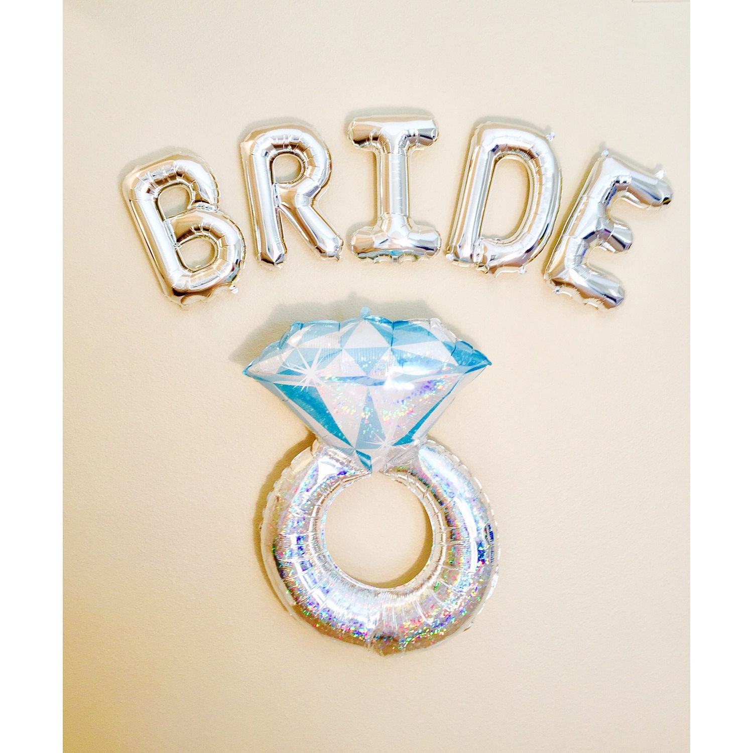 Bride Balloon Bride Banner Silver Bride Bride To Be Theme