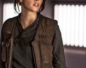 Jyn Cosplay Pieces! Jyn Top - Jyn Scarf - Jyn Pants - Rogue One Costume - Custom Made - Star Wars - Perfect!