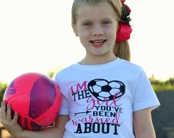 Soccer Shirts for Girls - Soccer Shirt - Sports Shirt- Soccer Gift - Gift for her - Soccer Tshirts- Girls Soccer - Soccer - Love Soccer -
