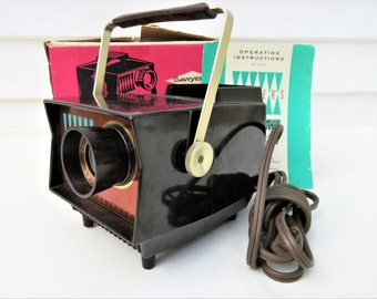 Vintage View Master | Projector | Light Projector | Electric Projector | Sawyer View-Master | Original Box