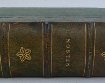 vintage book, Principles of Agricultural Botany, 1946, leather bound, from Diz Has Neat Stuff