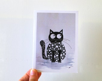 Funny cards friend birthday card Cute card Funny greeting cards - funny friend card - cat card - cute cat card for him - boyfriend card