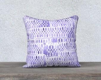 purple pillow purple pillowcase purple cushion cover velveteen pillow purple decor