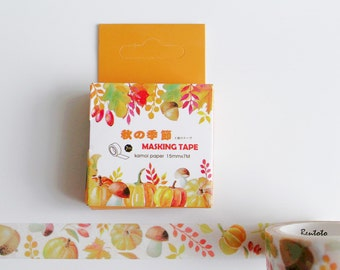Autumn Foliage Washi Tape