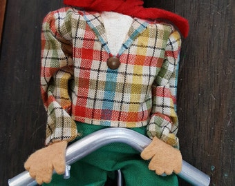 Fewo West Germany Unicycle Tight Rope Circus Clown Toy